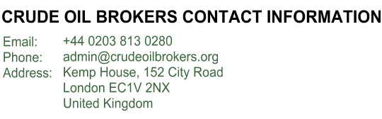 Crude Oil Brokers Contact Information